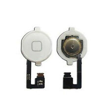 Home Menu Button Flex Cable  Key Cap Assembly for Apple iPhone 4S Durable New