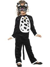 SALE! Kids Animal Black Cat Girls Halloween Party Fancy Dress Costume Outfit