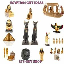 EGYPTIAN FIGURES & STATUES - GIFTS - EGYPT - BAST CAT - TUTANKHAMEN - UPDATED
