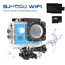 SJ4000 WIFI Sports DV 1080P HD Video Action Camera 2 inch Camcorder 2 Batteries