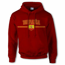 Men Spain Espana 2016 2017 football soccer classic sweatshirt hoodie Euro