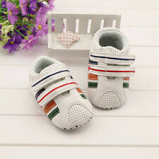 Infant Baby boy Soft soles Crib Shoes casual shoes Size 3-6 6-9 9-12 Months