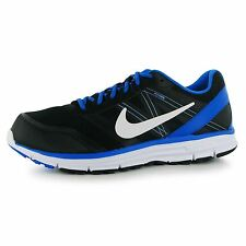 Nike Lunar Forever 4 Running Shoes Mens Black/White/Blue Trainers Sneakers