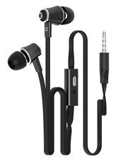 Mic Fashion Candy Color In-Ear Earphones Super Bass Headphones Stereo Headset ky