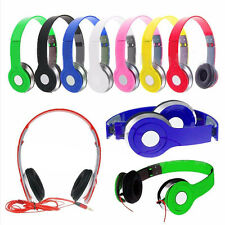 Adjustable Over-Ear Earphone Headphone 3.5mm For iPod iPhone 7 MP3 MP4 PC Tab 2