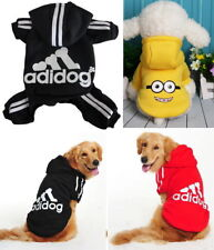 Puppy Small Big Pet Dog Clothes Apparel Hoodie Jacket Shirt Vest Jumpsuit Dress