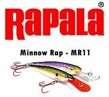 Rapala Minnow Rap MR11 MR09 MR07 P/HT/BHO/YP/ Trout Pike Salmon Muskie Sea Lures
