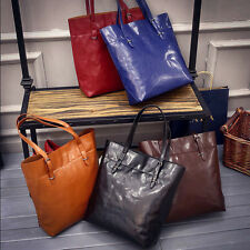 Fashion Women's Big Bag Satchel Handbag PU Leather Tote Lady Shoulder HoBo Bag