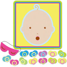 Pin The Pacifier On The Baby/Fun Baby Shower Party Game