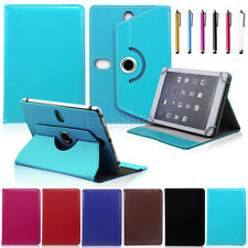 """For Barnes & Noble Nook HD+ 9"""" / HD 7"""" Tablet Universal Flip Leather Case Cover"""