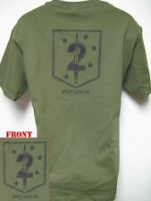 USMC 2ND MSOB T-SHIRT/ SPECIAL FORCES/ NEW/ MILITARY/ MARINES