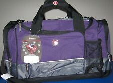 SWISS GEAR By WENGER CARRY ON WEEKEND OVERNIGHT CAMPING GYM DUFFLE BAG