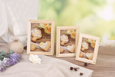 Solid Wood Frame Creative Photo Wall Wooden Wall Collages Photo Farme