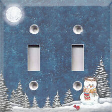 Christmas Winter Night~ Light Switch Cover~Home Decor~Choose Your Plate~