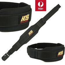 WEIGHT LIFTING BELT BODY BUILDING BELT DOUBLE BACK SUPPORT FITNESS BELT GYM BELT