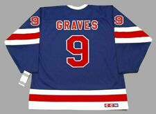 ADAM GRAVES New York Rangers 1991 CCM Vintage NHL Hockey Jersey