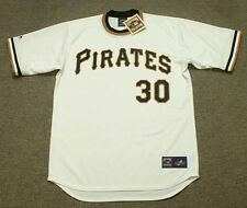 DAVE CASH Pittsburgh Pirates 1971 Majestic Cooperstown Home Baseball Jersey