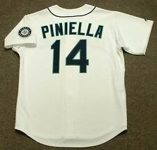 LOU PINIELLA Seattle Mariners 1997 Majestic Throwback Home Baseball Jersey