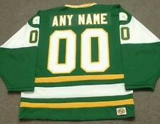 "NEW ENGLAND WHALERS 1970's WHA Vintage Throwback ""Customized"" Hockey Jersey"