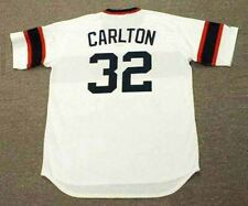 STEVE CARLTON Chicago White Sox 1980's Majestic Cooperstown Home Baseball Jersey