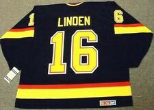 TREVOR LINDEN Vancouver Canucks 1994 CCM Vintage Throwback NHL Hockey Jersey