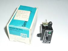 76 77 78 79 80 81 Chevy Chevette Rear Defroster Switch NOS OEM 14024429 470348