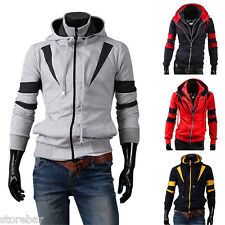 Men's Casual Jackets Sweatshirt Size L XL 2XL Mens Hoody Jacket Coat Hoodies TOP