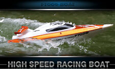 RC Speed Boat Radio Remote Controlled Racing Boat 2.4G 4CH FT009 Waterproof Fish