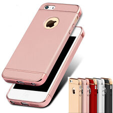 New Ultra-thin Shockproof Acrylic Hard Back Case Cover For Apple iPhone SE 5 5s