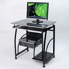 Home Office Study Work Station Student Computer Desk Table PC Storage Drawers