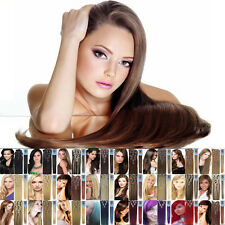 Clip In Remy Human Hair Extensions Straight7pcs For a Full Head 16''18''20''22''