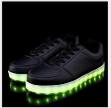 BJ191  Unisex Women & Men LED 7 Color Lights Chargable Flashing Sneakers Shoes