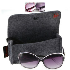 Womens Retro Style Designer Fashion Gradient Sunglasses FREE CASE