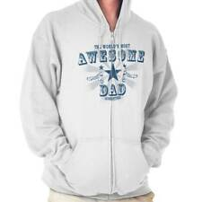 The Worlds Most Awesome Dad Fathers Day Funny Shirt Gift Ideas Zipper Hoodie
