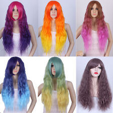 """Wavy Culy Colors 75CM/29.5"""" Party Fashion Sexy  Cosplay Wig Full Hair Long Wig"""