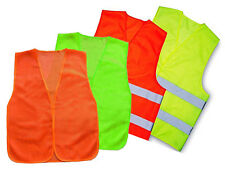 General Purpose Flourescent Color Mesh Construction Working Traffic Safety Vest