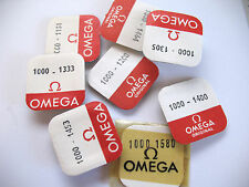 OMEGA 1000,1001,1002 ASSORTED MOVEMENT PARTS