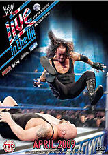 WWE - Live In The UK April 2009 - DVD  WEVG RAW ECW SMACKDOWN SUPERSTARS