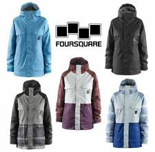 FOURSQUARE WOMENS CRUSH JACKET SNOWBOARD INSULATED ALL COLORS SIZE MEDIUM NEW