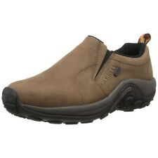 Merrell Men Athletic Shoes Jungle Moc Nubuck Waterproof Brown