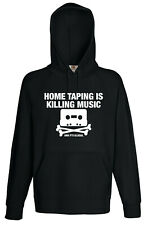 Home taping is Killing Music 80s 90s Hoodie