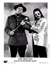 The Mountie Jimmy Hart WWF WWE Wrestling Promo print picture photo 001
