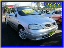 2003 Holden Astra TS CD Silver Automatic 4sp A Sedan