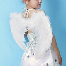 New Cute Kids Feather Angel Fairy Wings Fancy Dress Up Party Costume Accessories