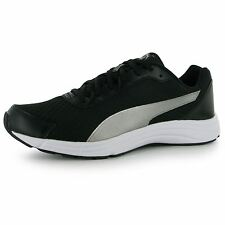 Puma Expedite Running Shoes Mens Black/Silver Fitness Trainers Sneakers