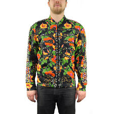 Adidas Jeremy Scott ObyO Flower Bone TT Black/Multicolor Track Top F50867 NEW!