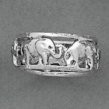 ELEPHANT Sterling Silver Ring-Elephant Ring-925 Sterling Silver-Oxidized
