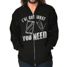 I've Got What You Need Men Funny Humorous Novelty Fashion Gift Zipper Hoodie