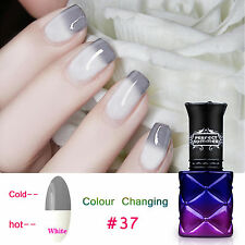 8ML Soak off Temperature Change Color Gel Nail Polish UV Led Nail Art  Lacquer