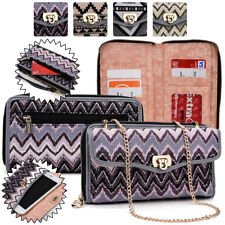 Women's Convertible Tribal Smartphone Wristlet Cover & Crossbody Purse SUNIS2-3